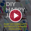 diy happy jars behind red video play button