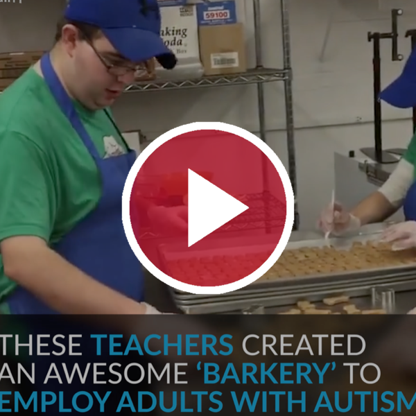 'Teachers Created This Awesome 'Barkery' to Employ Adults With Autism'