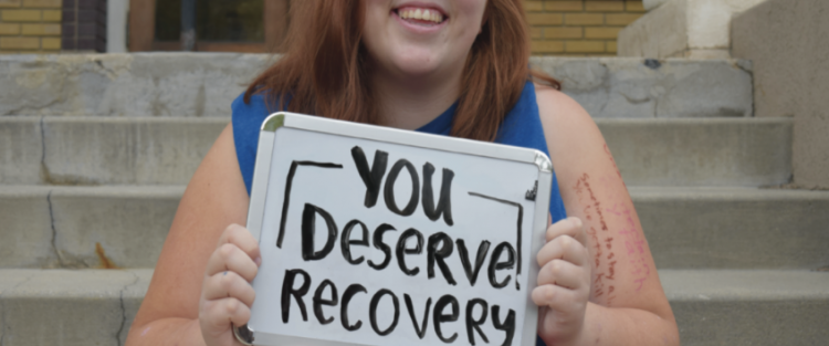 "Contributor photo ""you deserve recovery"""