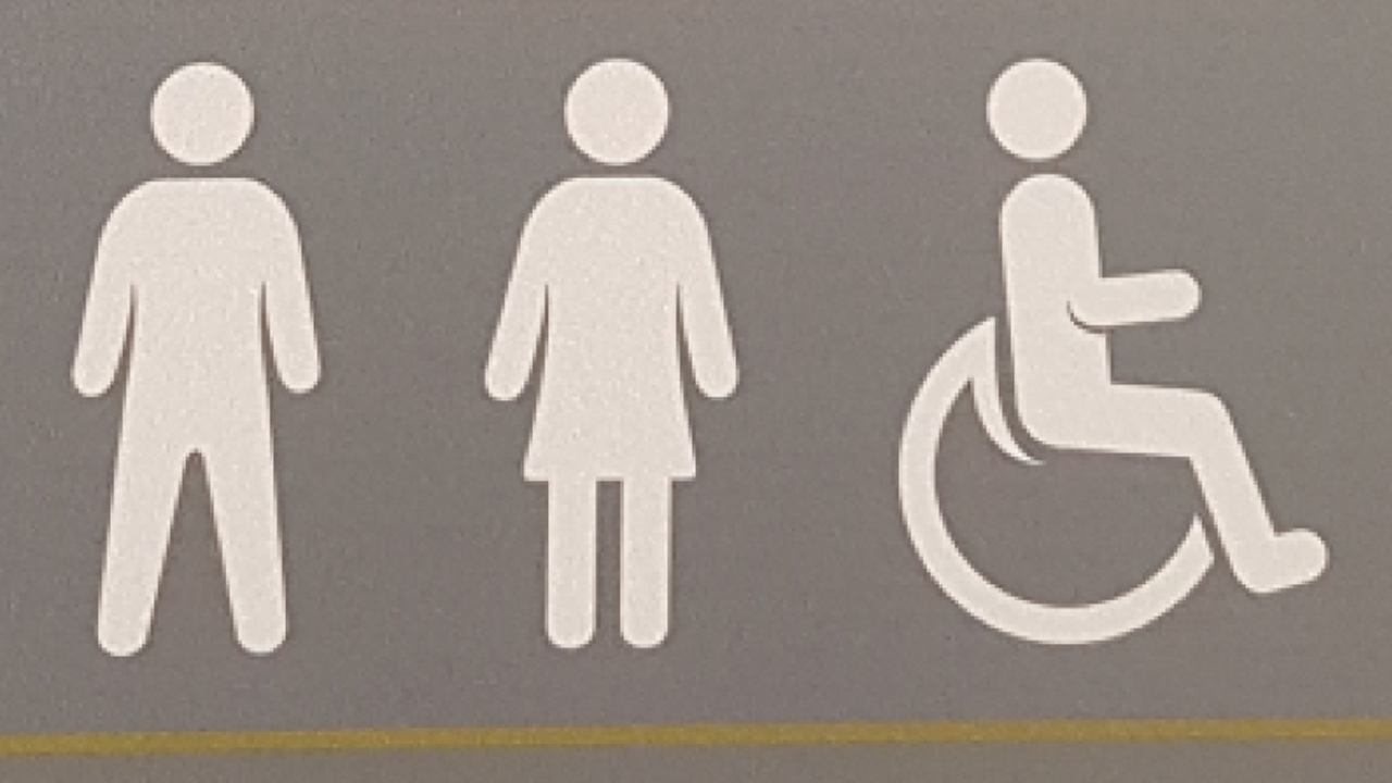 Tesco Supermarkets Unveils Bathroom Sign For Invisible