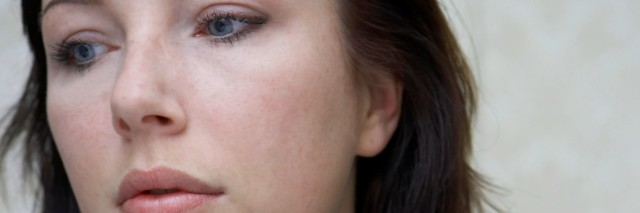 Young woman, close-up