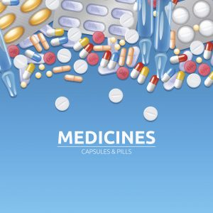 illustration of medication