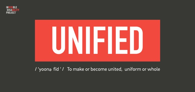 Unified: to make or become united, uniform or whole.