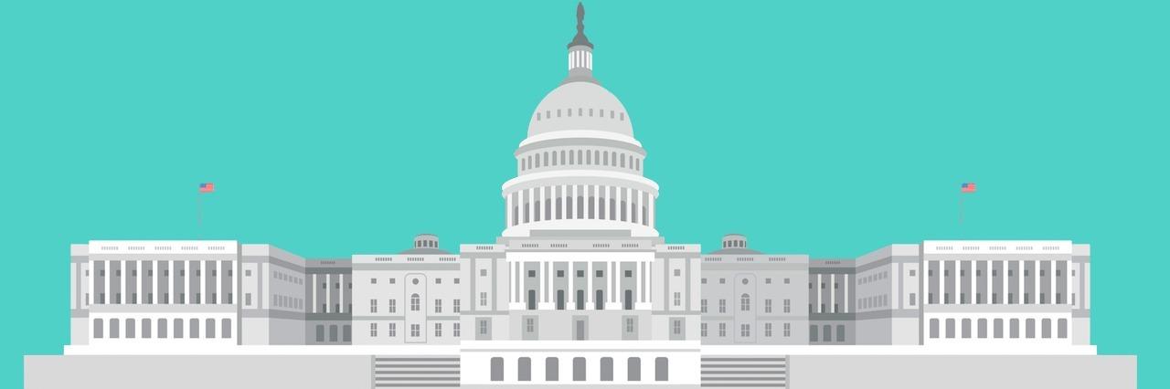 Graphic image of Washington D.C.