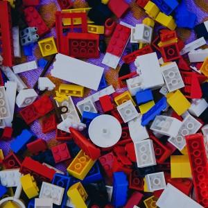 Assorted LEGOs pieces