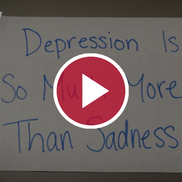 'Depression Is So Much More Than Sadness'