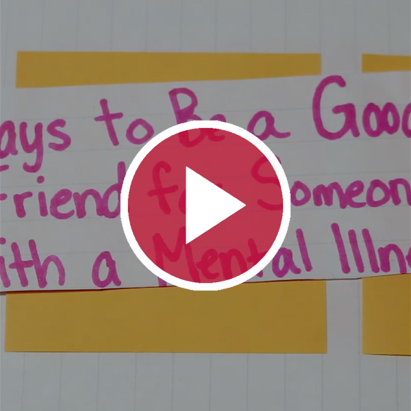 'Ways to Be a Good Friend For Someone With a Mental Illness'