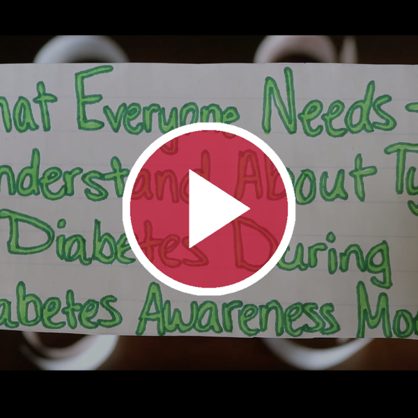 'What Everyone Needs to Understand About Type 1 Diabetes During Diabetes Awareness Month'
