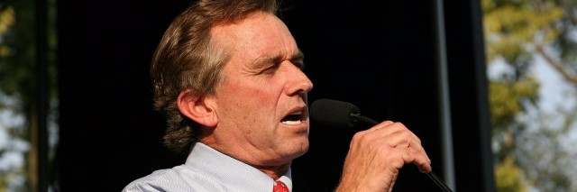 Robert F. Kennedy Jr speaking