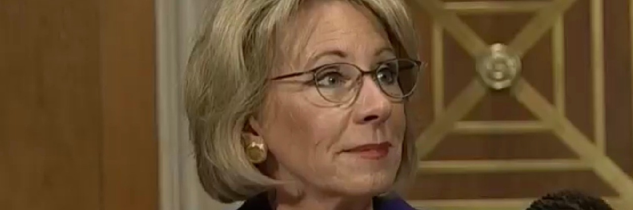 Betsy DeVos at Senate Confirmation Hearing