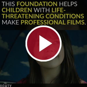 'This Foundation Helps Children With Life-Threatening Conditions Make Professional Films'