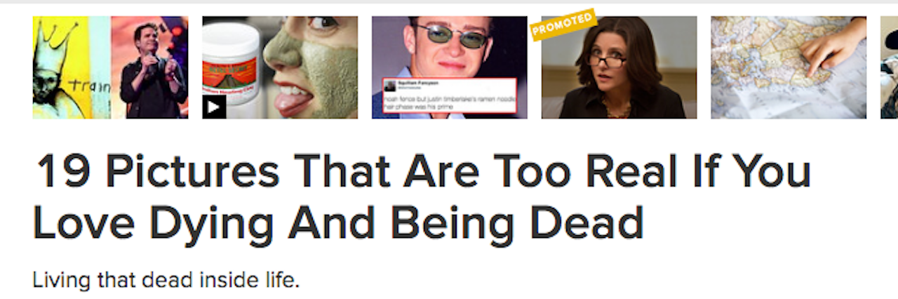 buzzfeed article about loving death