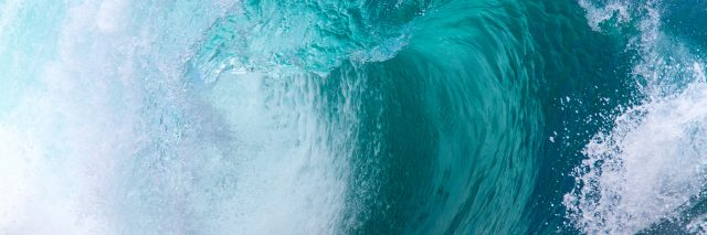 Picture of ocean wave