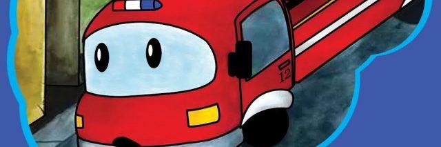 firetruck book cover