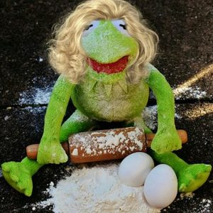 kermit the frog baking