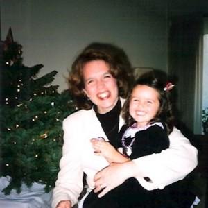 contributor photo with mom