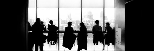 people at a meeting