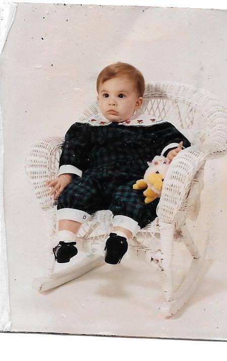 Lauren as a baby.