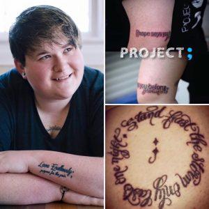 Amy E. Bleuel from Project Semicolon