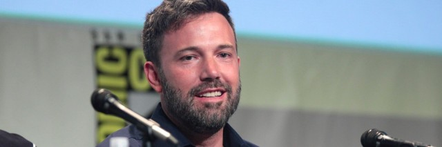 Ben Affleck at Comic Con