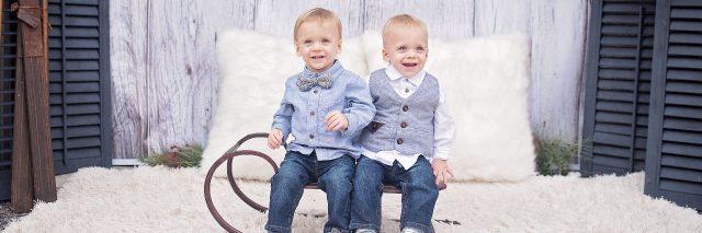 Logan and Mason.