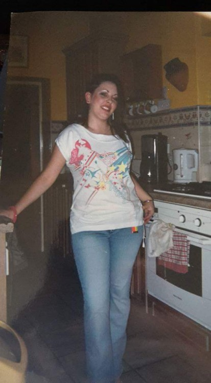 woman standing in kitchen