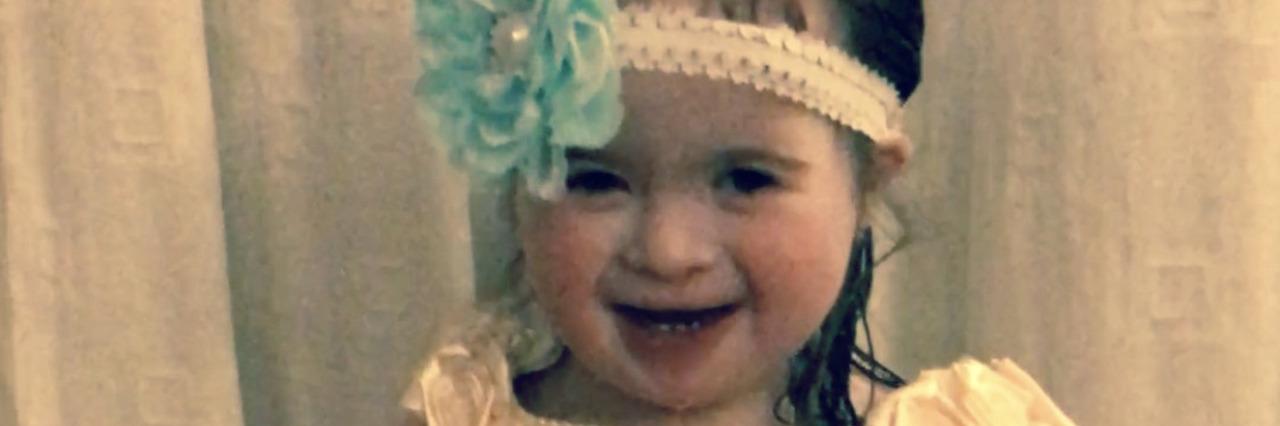 Maria's daughter, Jordan Grace.