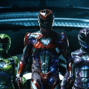 Photo of all of the Power Rangers