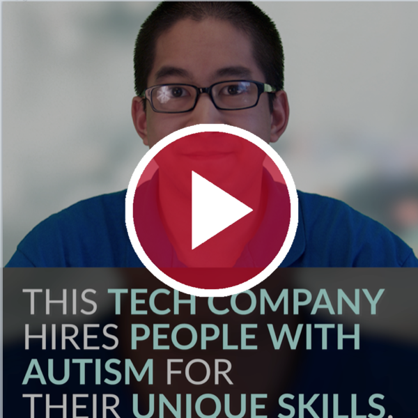 This Tech Company Hires People With Autism for Their Unique Skills