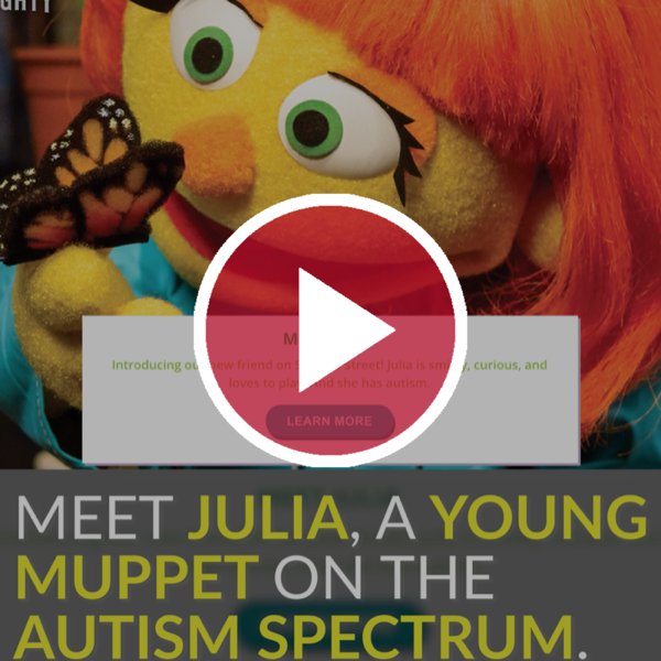 Sesame Street Introduces a New Muppet on the Autism Spectrum