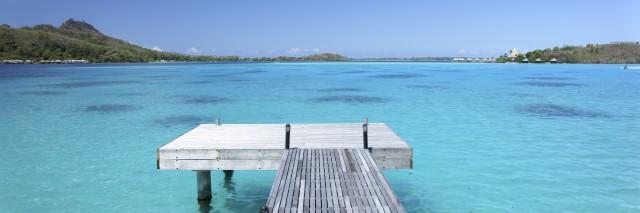 Pier, Bora Bora Island, Tahiti