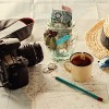 Instagram looking image of travelling concept. Retro effect, filters, color toning, selective focus, shallow depth of field