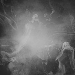 gray smoke abstract background or texture