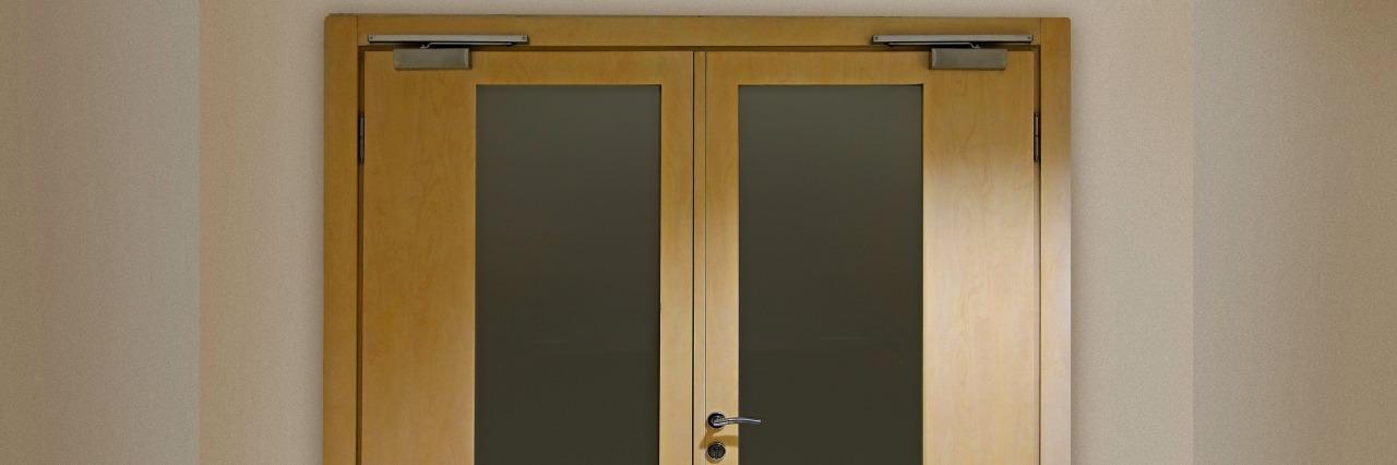 psych ward door
