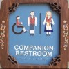 Companion restoom sign
