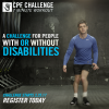 CPF Challenge for people with or without disabilities.
