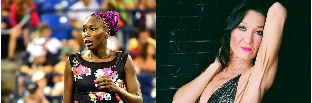 venus williams and sara geurts