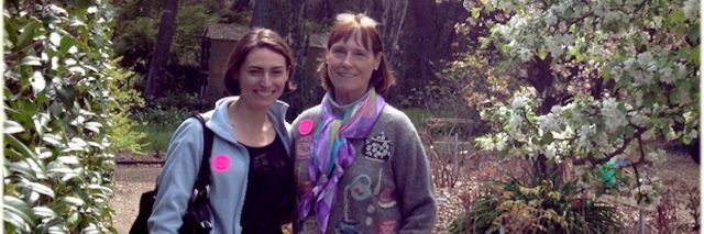 Contributor Sarah and her mother