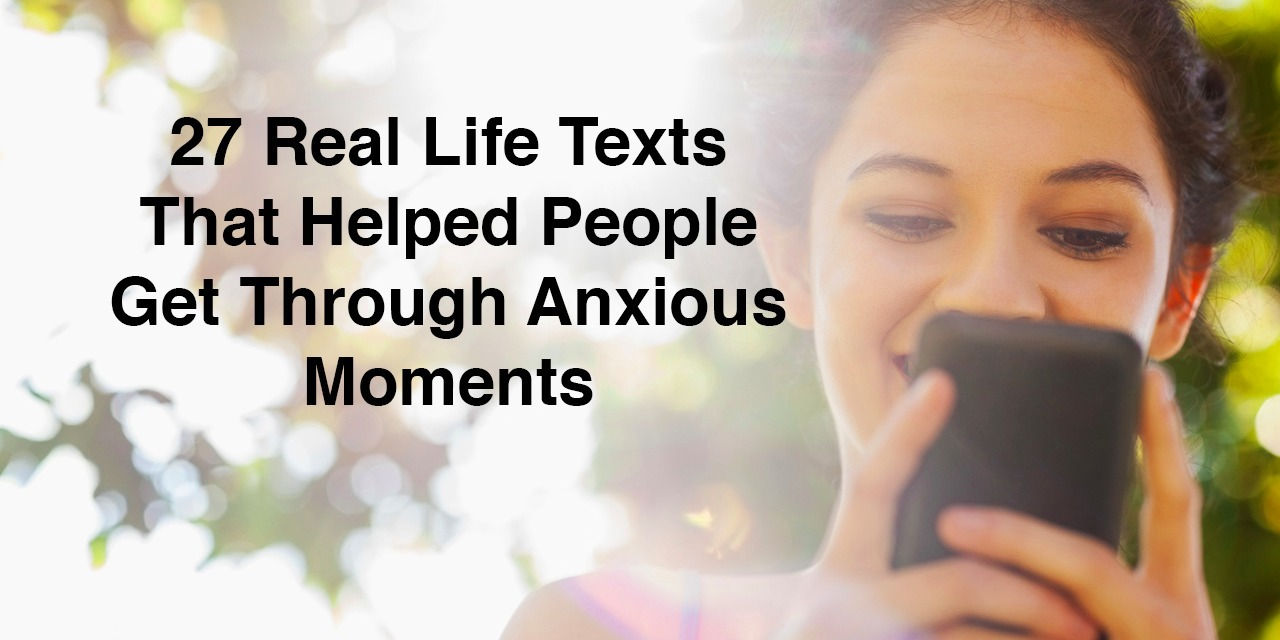 anxious moment Do they stem from something you are dealing with in the moment or a  2017,  print edition as 'calm your mind in anxious times seven tips.