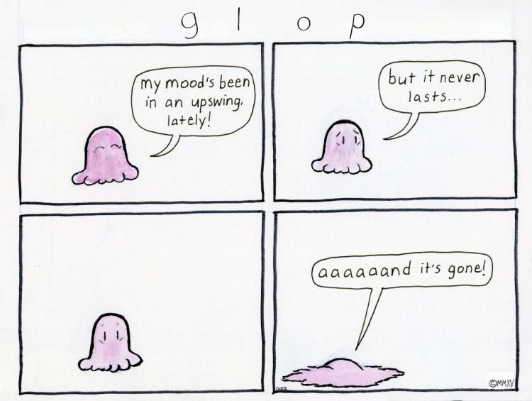 Glop Comic depression