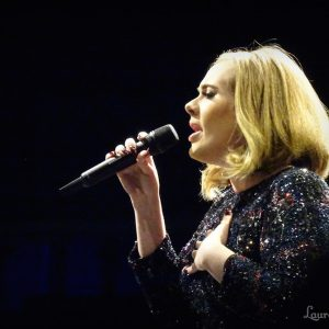 adele at concert