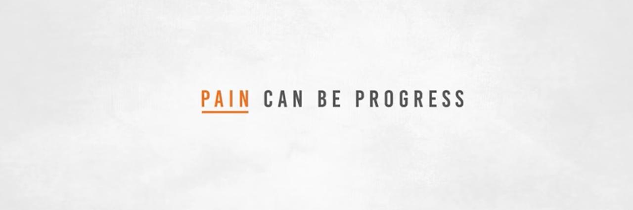 motrin ad screen shot pain can be progress