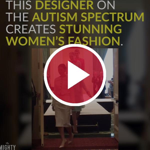 This Designer on the Autism Spectrum Creates Stunning Women's Fashion