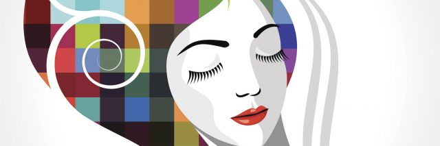 Vector - creative fashion beautiful women
