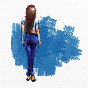 painting of beautiful girlpainting of beautiful girl