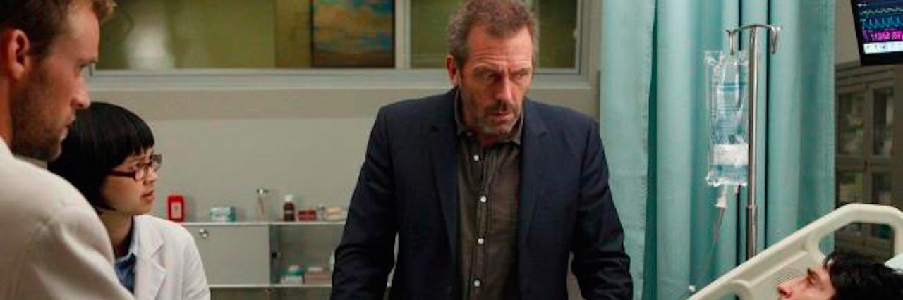 hugh laurie on house