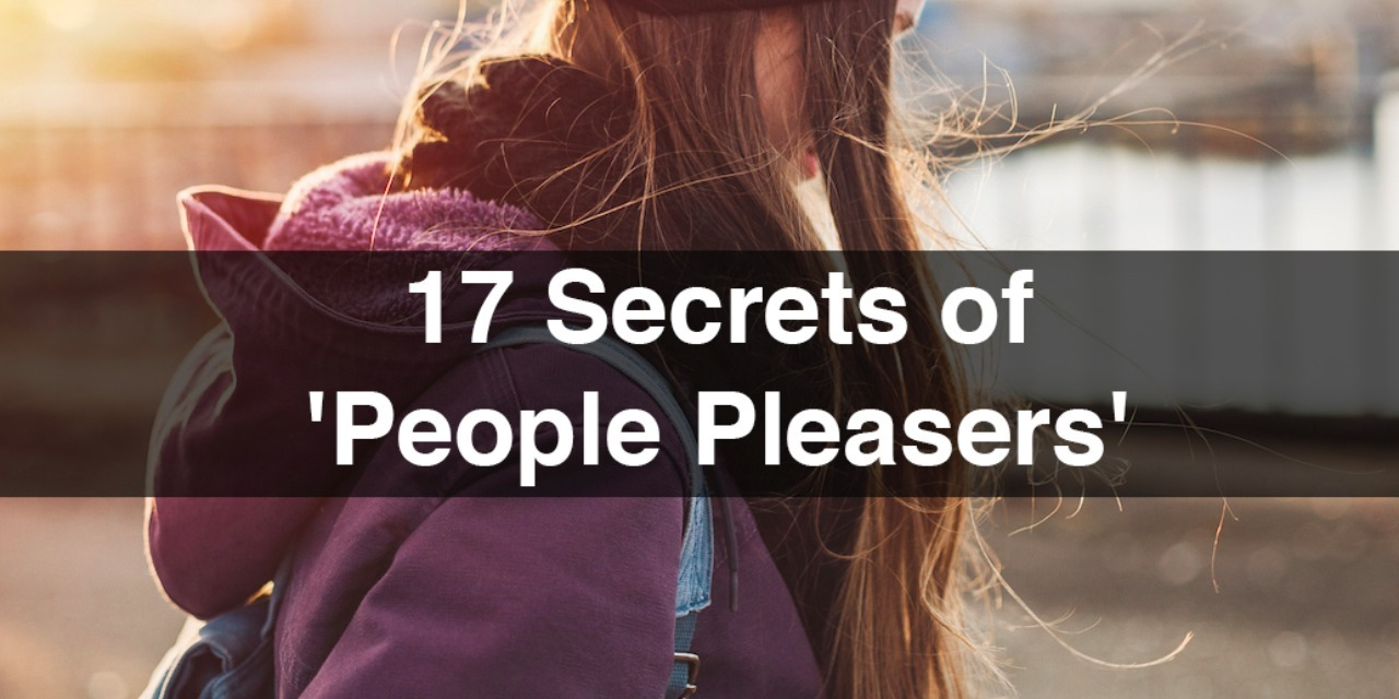 Pleasers are people who are most likely looking for