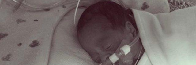 Baby Jaxson in the NICU