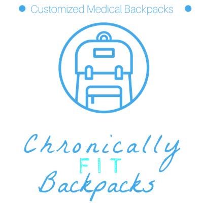 chronically fit backpacks logo