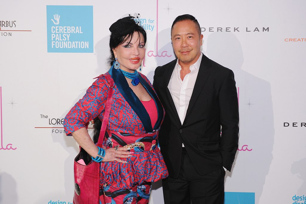 Loreen Arbus and Derek Lam.